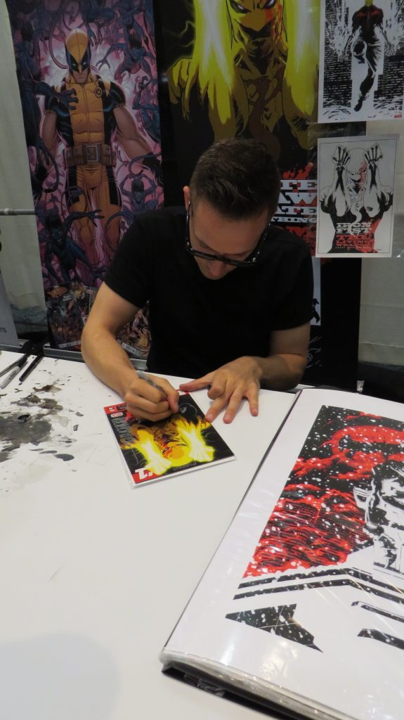 kaare andrews fan expo autograph