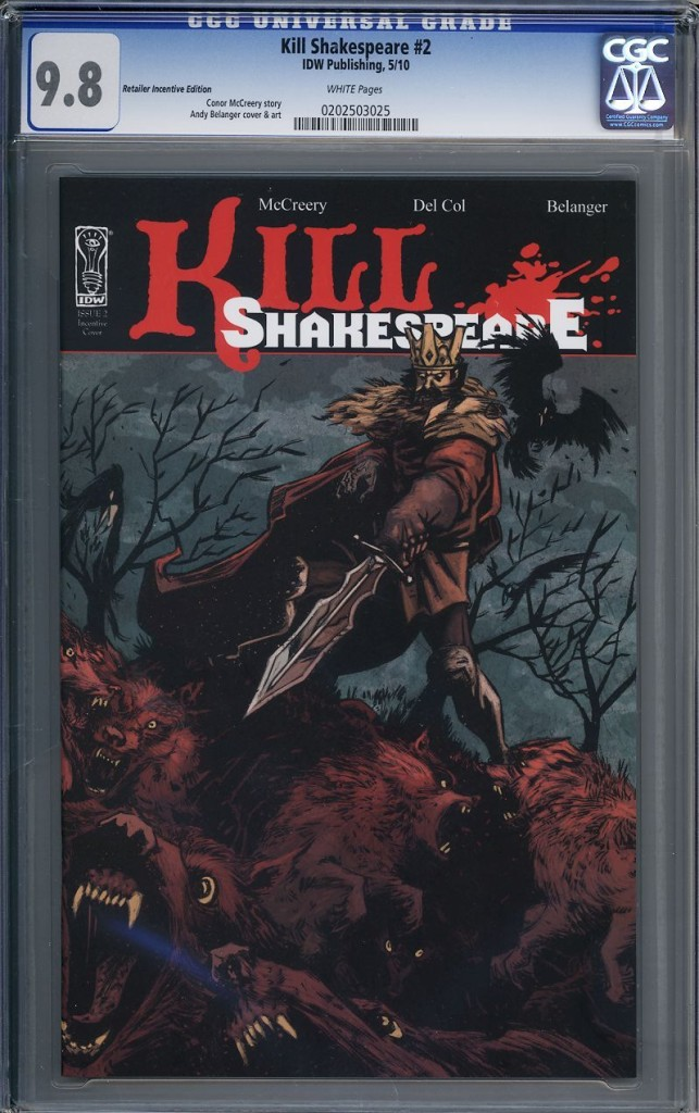 kill shakespeare cgc