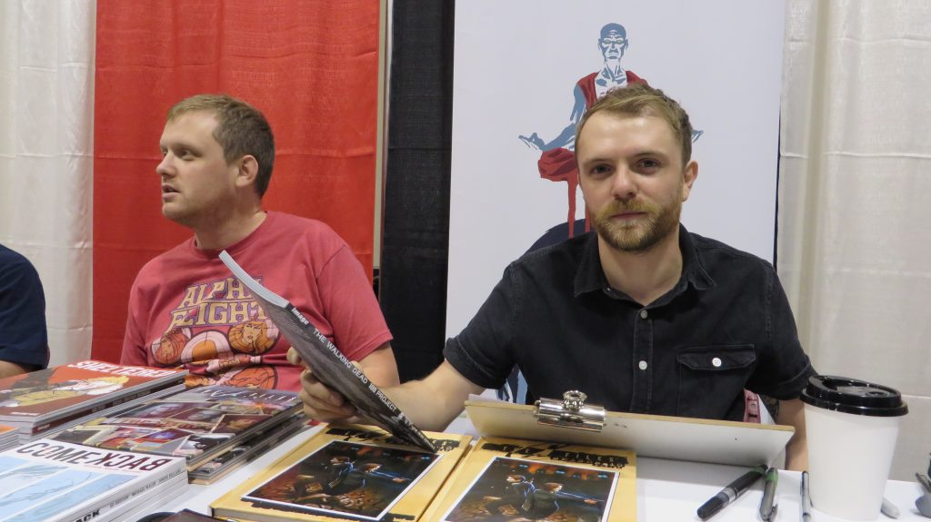 michael walsh and ed brisson fan expo