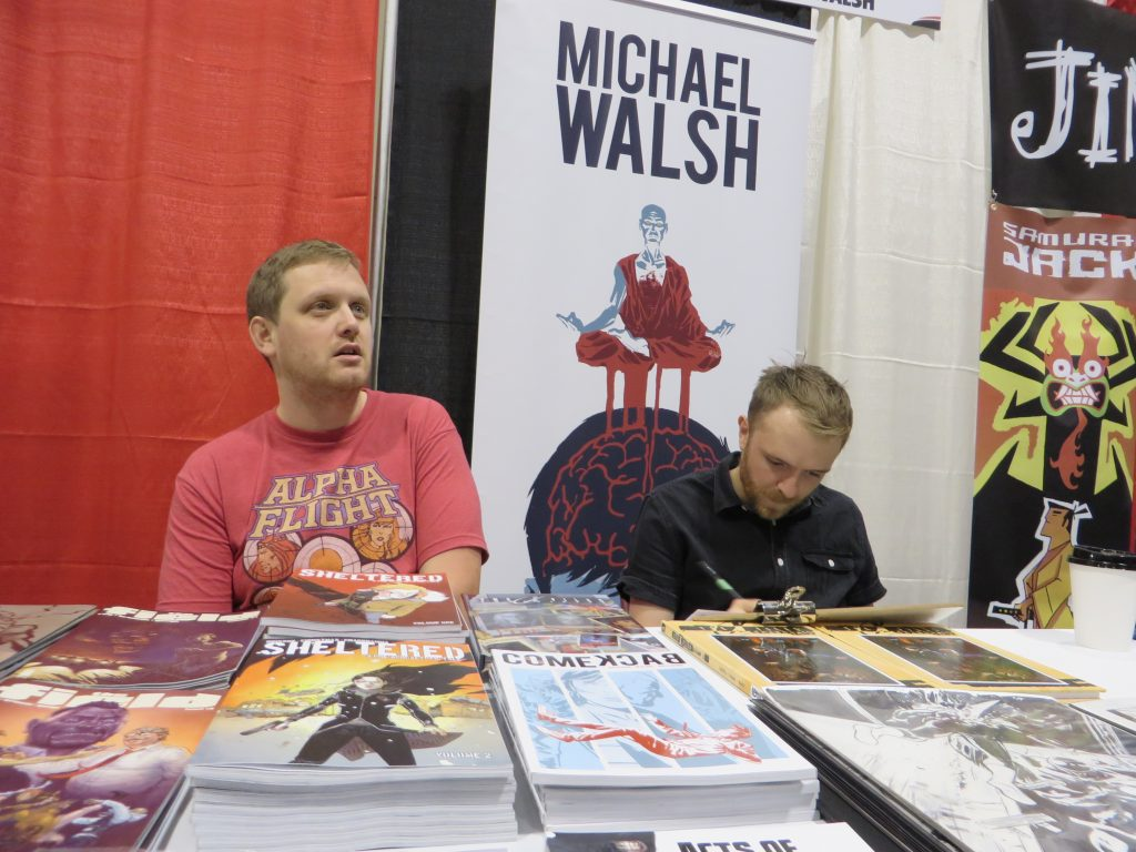 michael walsh comics