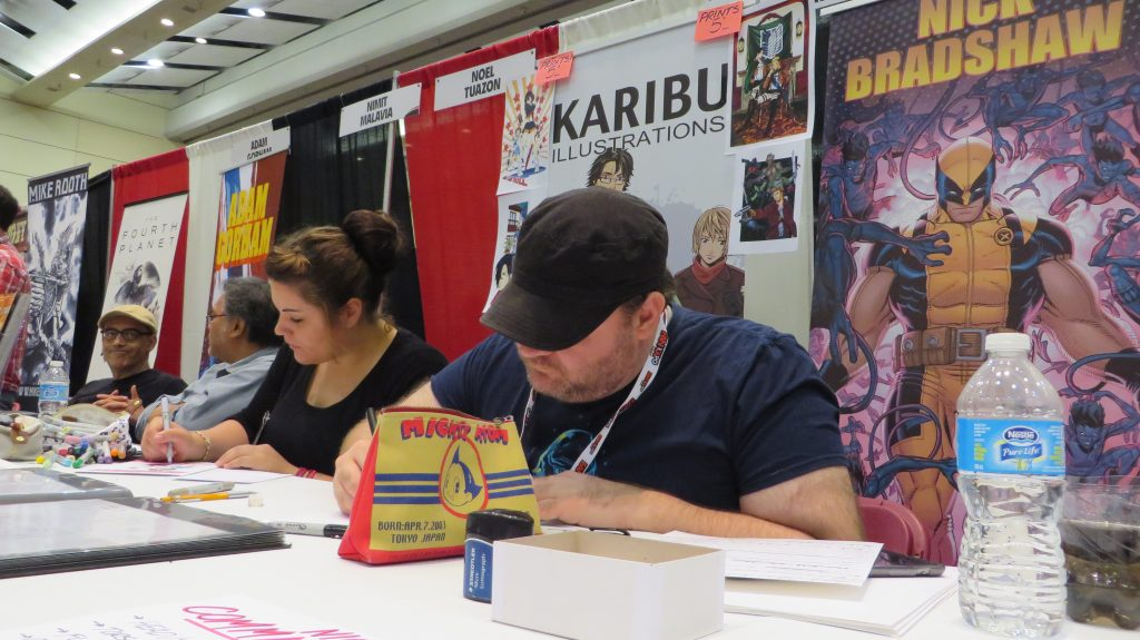 nick bradshaw fan expo 2014