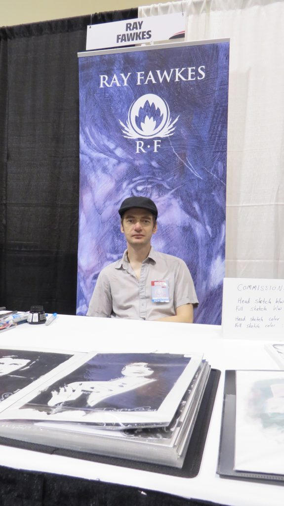ray fawkes fan expo