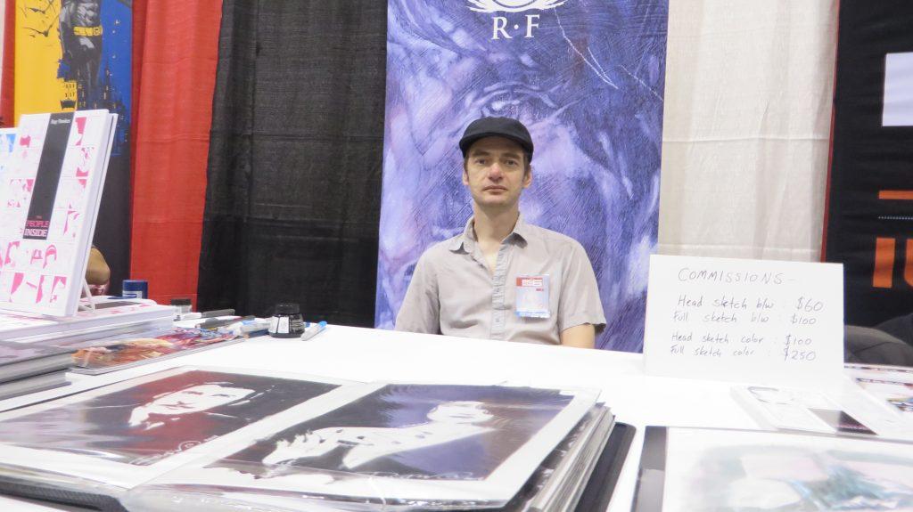 ray fawkes signature fan expo