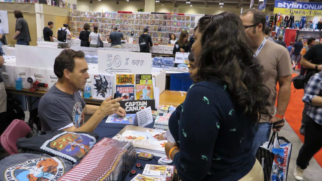 richard comely at fan expo