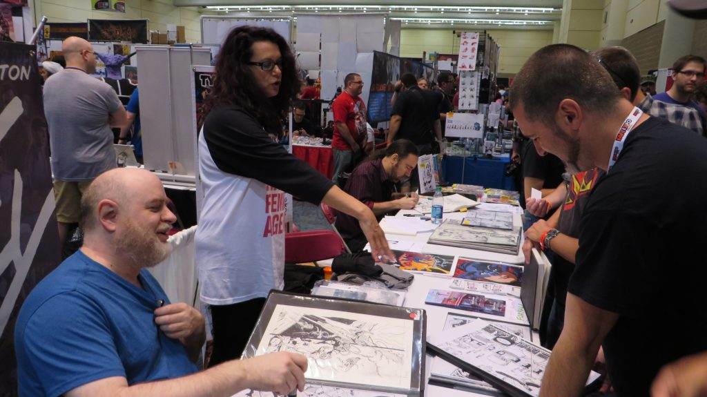 ty templeton fan expo 2014