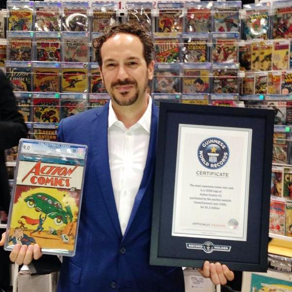 action comics cgc winner