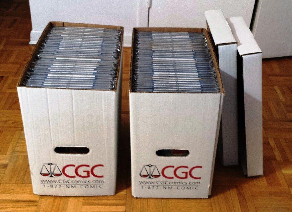 cgc comics storage box