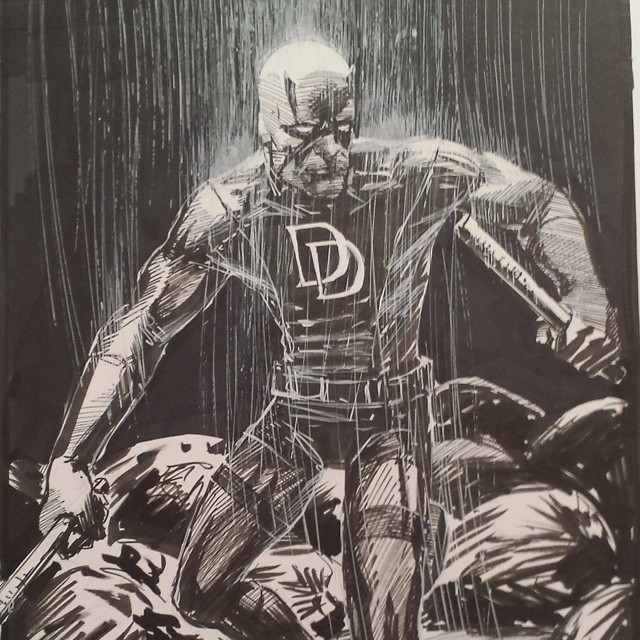 richard pace daredevil sketch commission