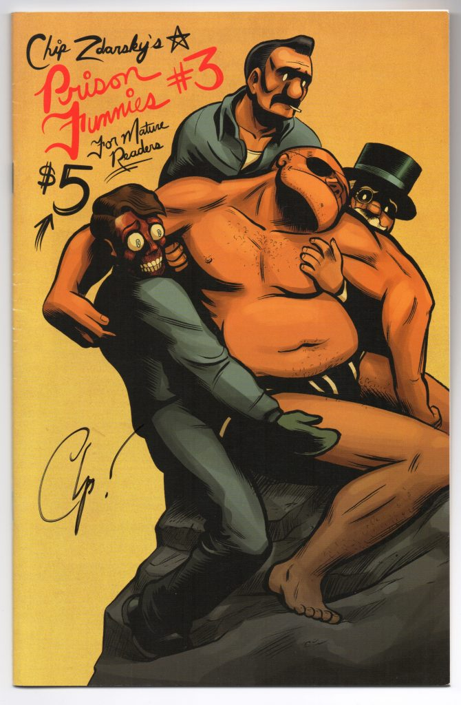 Prison Funnies #3 Chip Zdarsky Signature