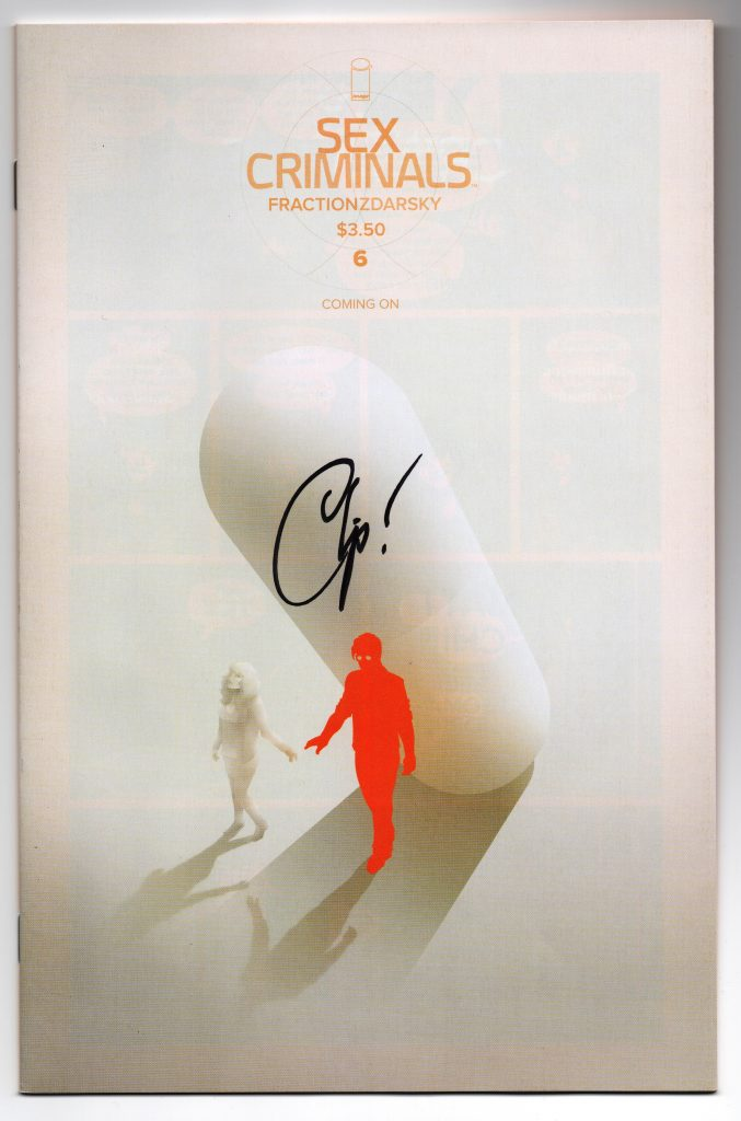 Sex Criminals #6 Signed by Chip Zdarsky