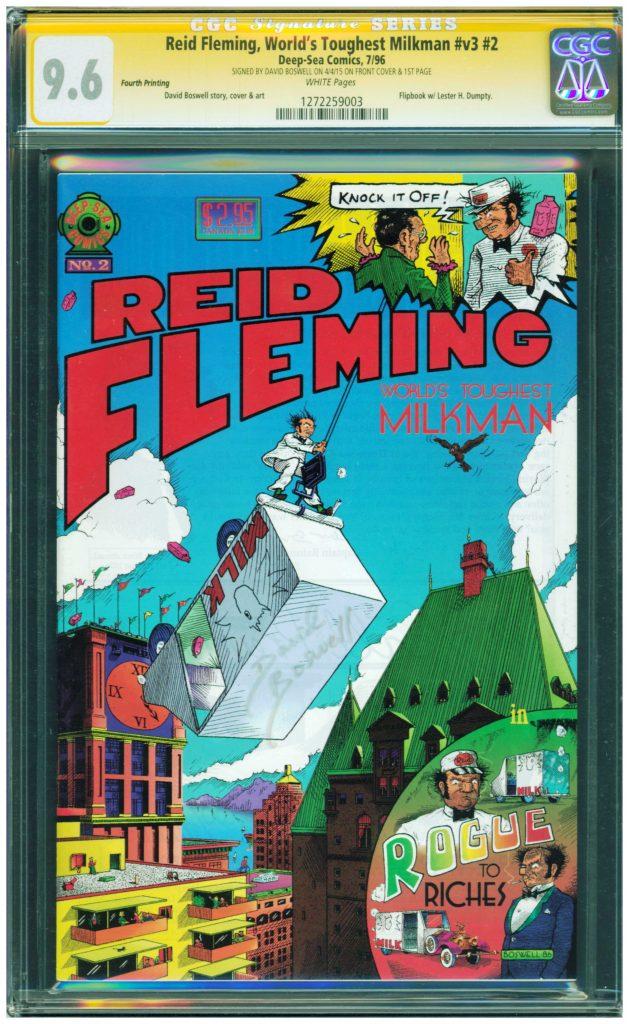 reid fleming worlds toughest milkman cgc ss 9.6
