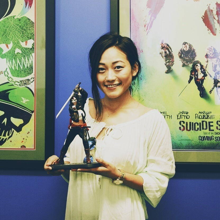Karen Fukuhara katana statue cgc comics blog