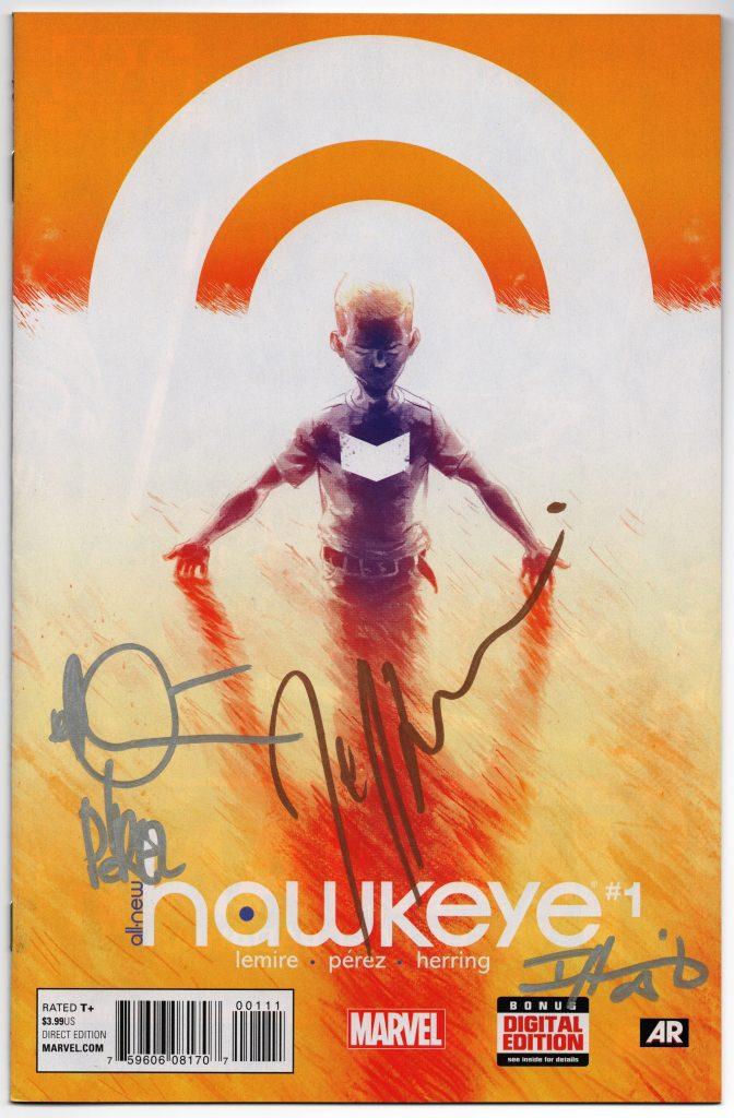 All New Hawkeye Signature