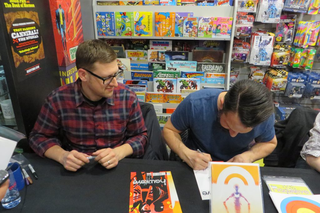 Jeff Lemire and Ramon Perez