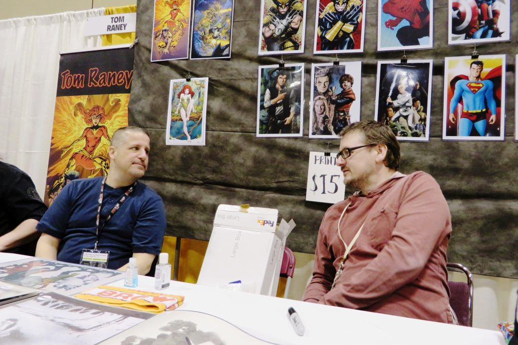 Mike McKone Toronto Comicon (1)