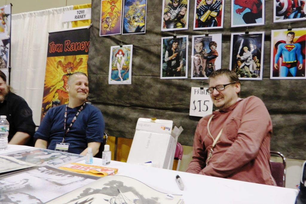 Mike McKone Toronto Comicon (2)