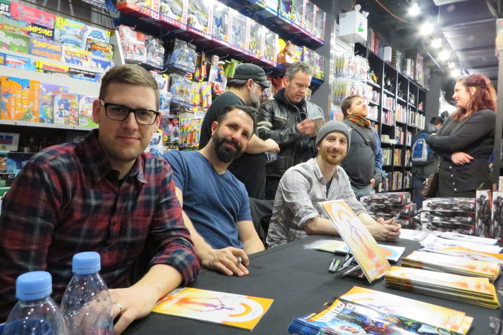 all new hawkeye launch party at silver snail comics