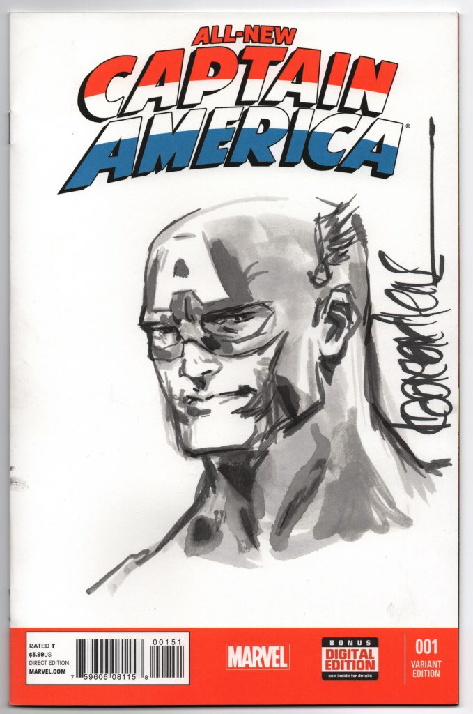 kaare andrews sketch cover