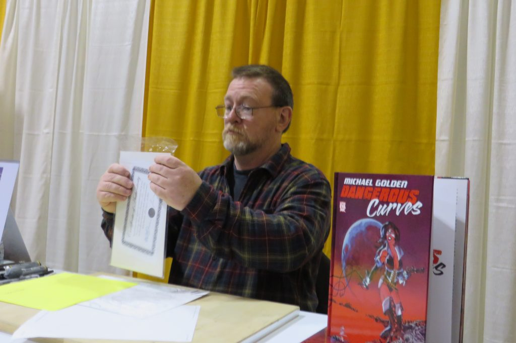 michael golden toronto comicon