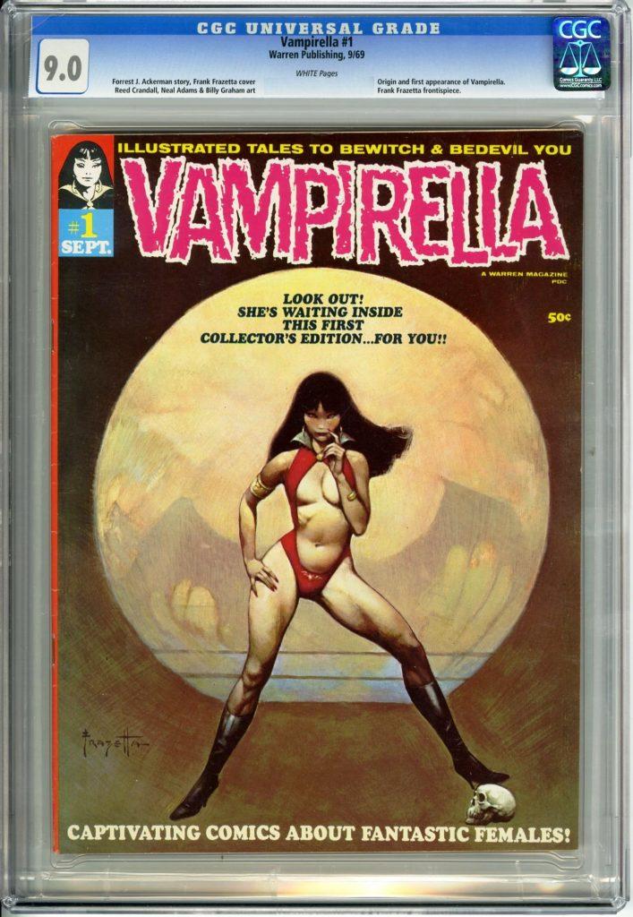 neal adams cgc comics blog vampirella 1 cgc