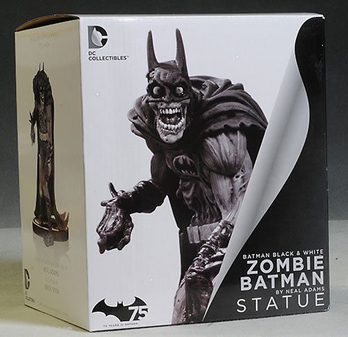 neal adams zombie batman statue box