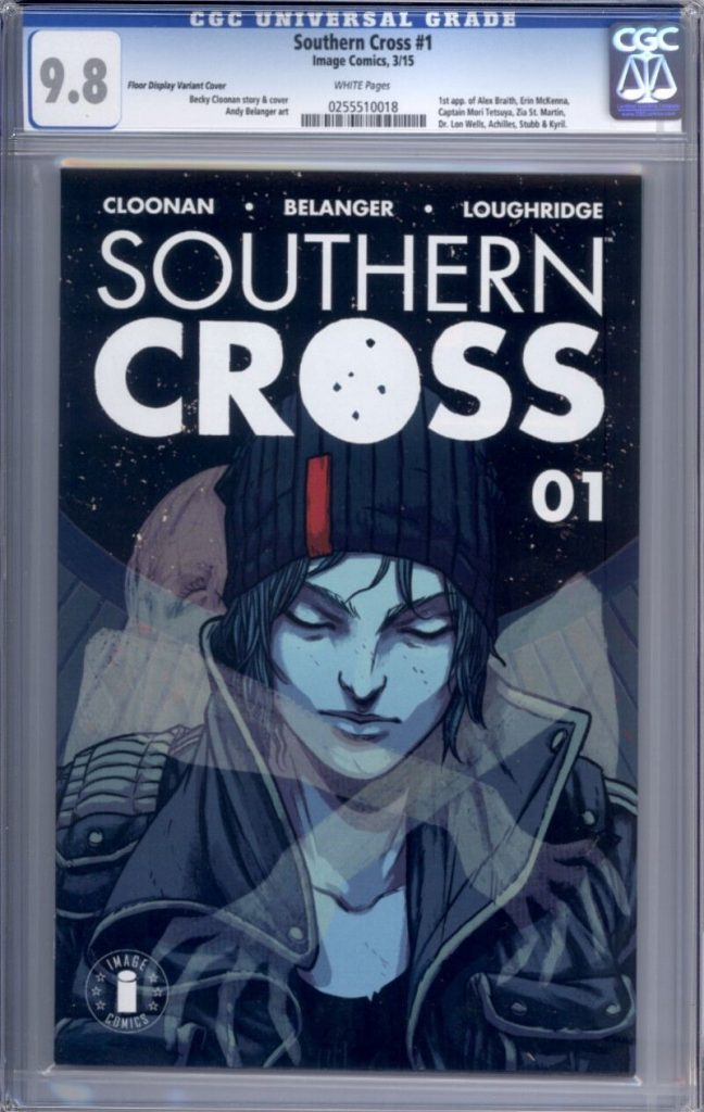 southern cross cgc 9.8 cgc comics blog
