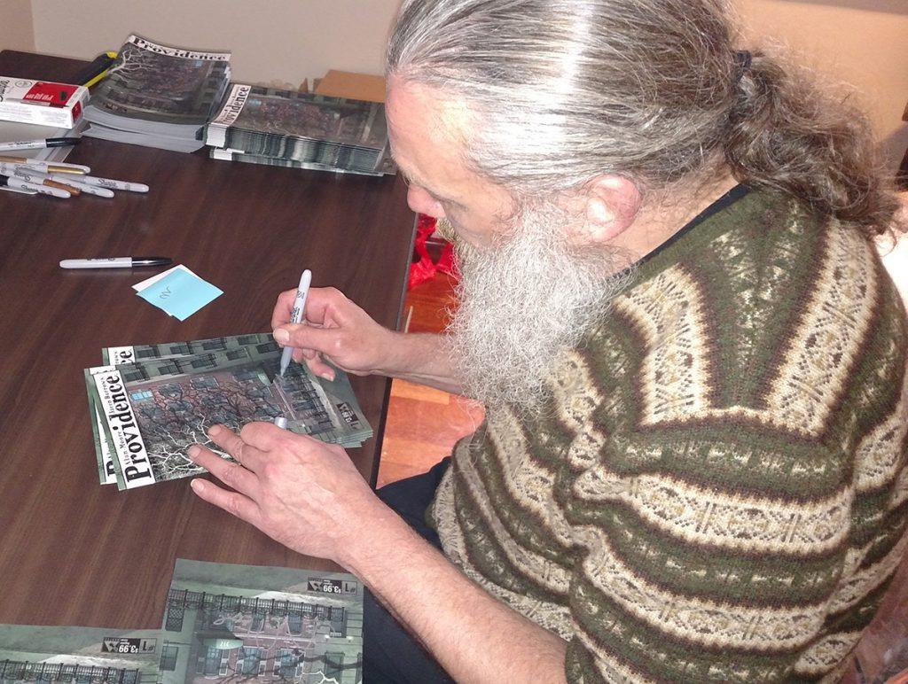 Alan Moore Avatar Press Signing CGC Comics