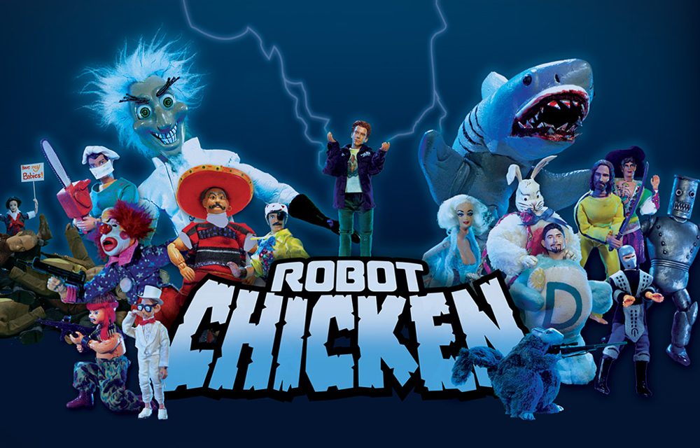 seth green robot chicken cgc comics blog