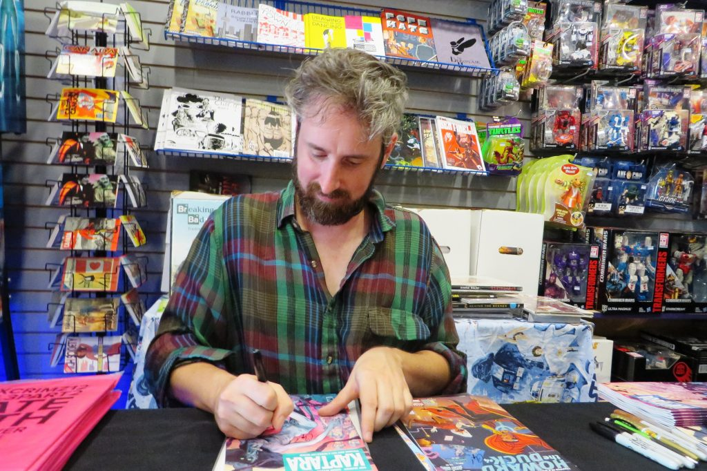 chip zdarsky at silver snail comics (17)