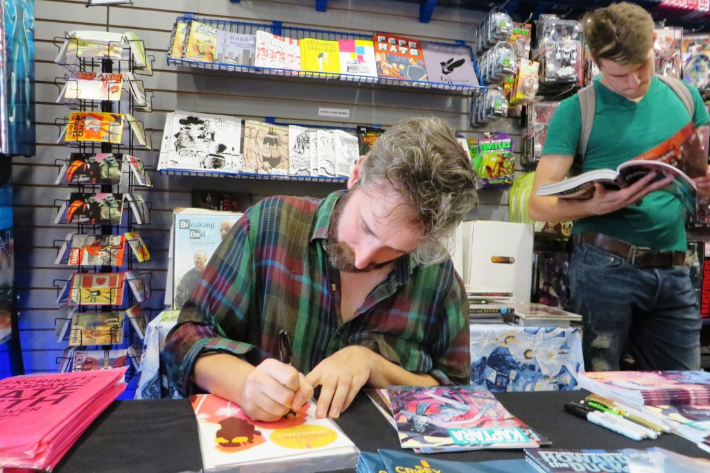 chip zdarsky at silver snail comics (19)