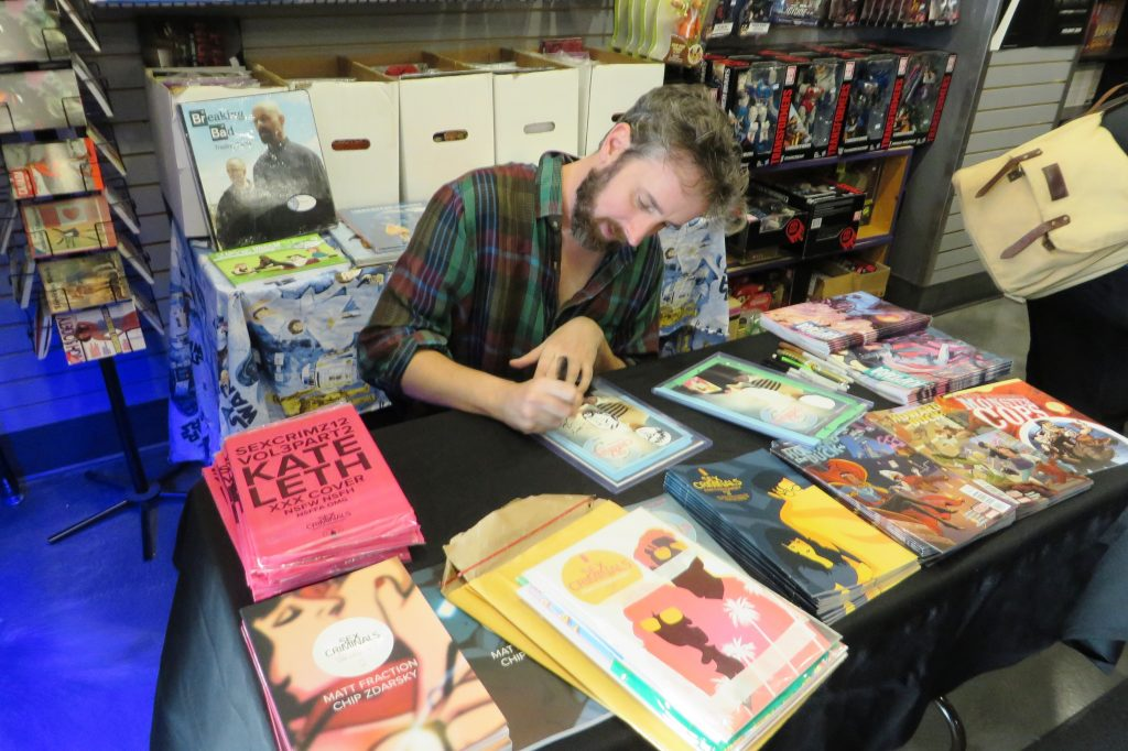 chip zdarsky at silver snail comics (2)