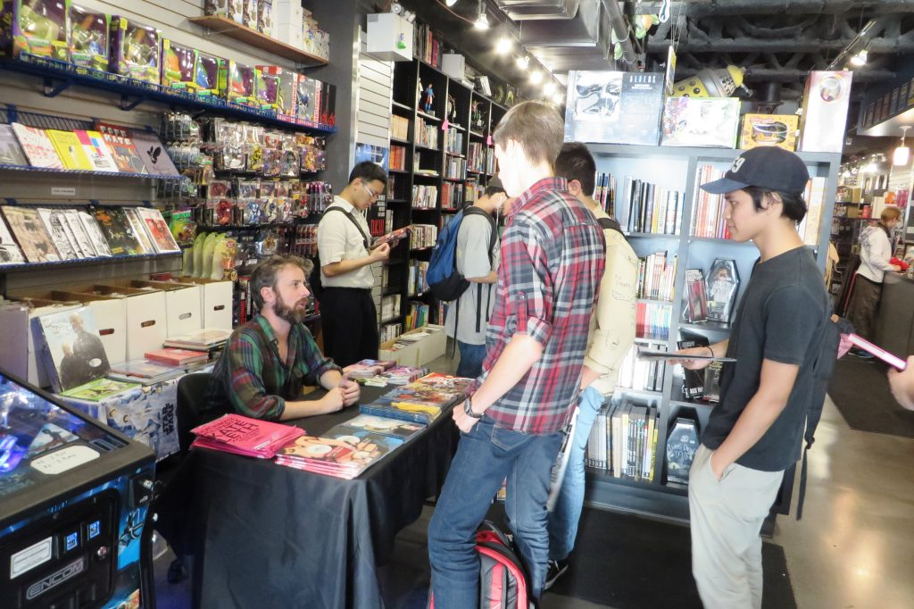 chip zdarsky at silver snail comics (3)