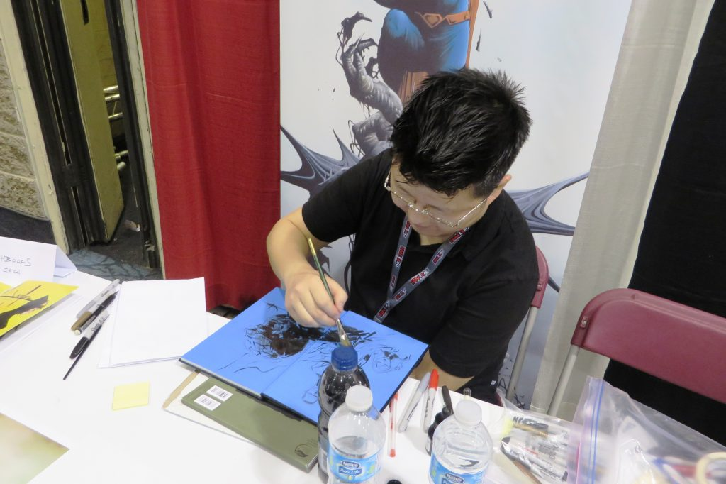 jae lee at cgc comics fan expo