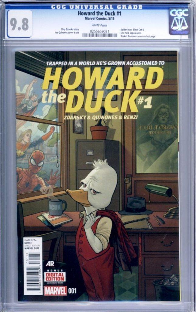 howard the duck #1 cgc zdarsky