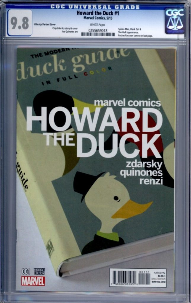 howard the duck cgc zdarsky