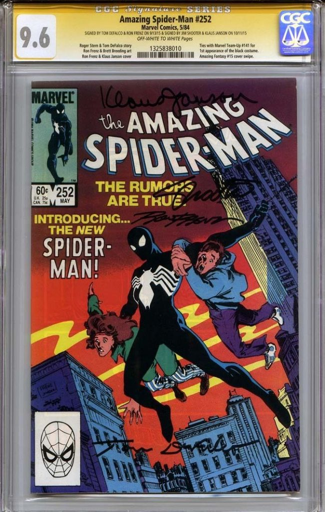 jim shooter cgc ss