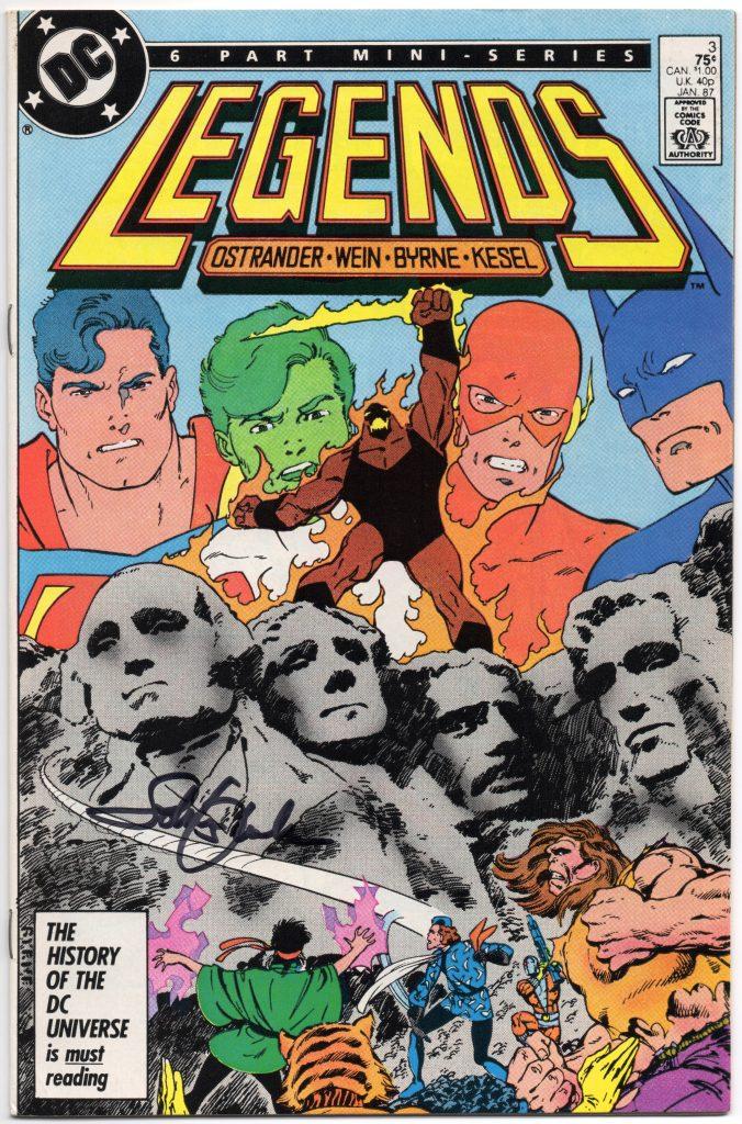 john ostrander signed legends 3 cgc comics blog toronto comicon 2016