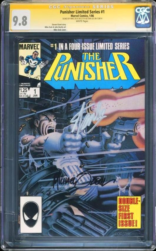mike zeck cgc ss punisher