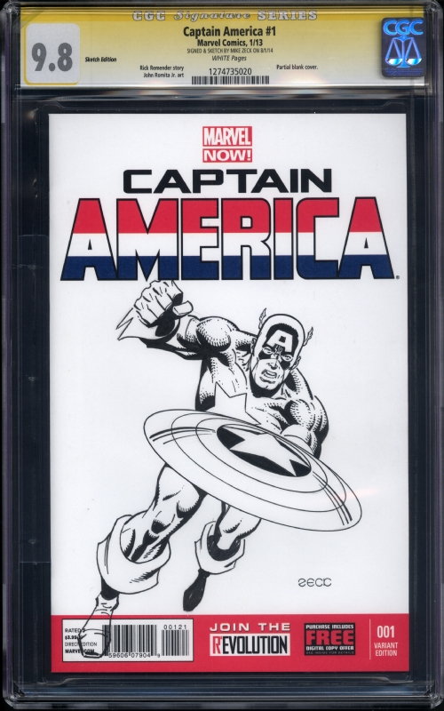 mike zeck cgc ss