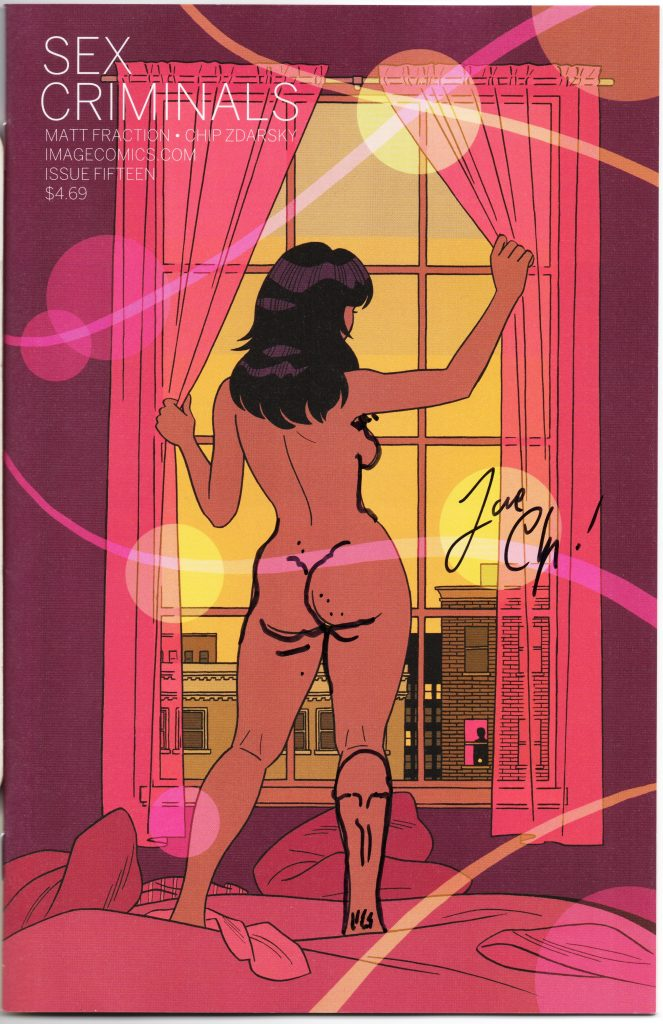 chip zdarsky signature sex criminals tcaf