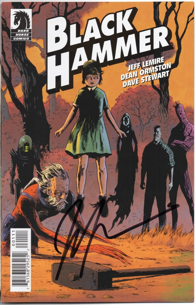 jeff lemire signature tcaf cgc comics blog