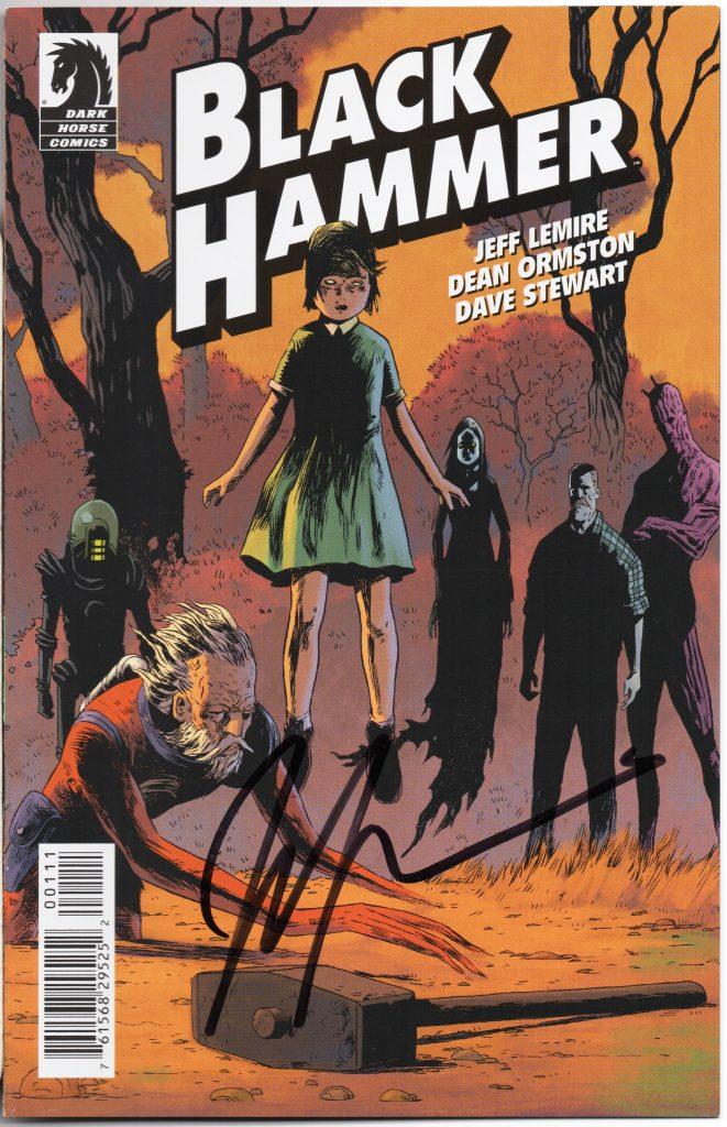 jeff lemire signature tcaf cgc comics blog