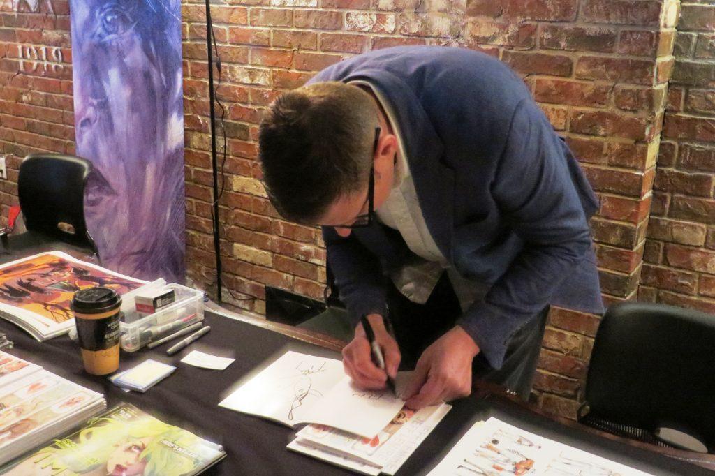 jeff lemire tcaf 2016 cgc comics blog (11)