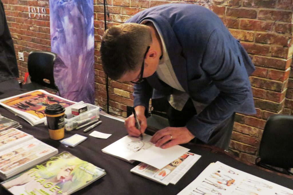 jeff lemire tcaf 2016 cgc comics blog (8)