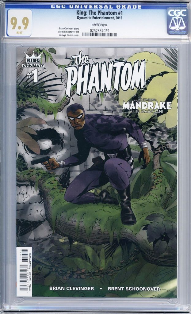 the phatom 1 cgc 9.9 darwyn cooke