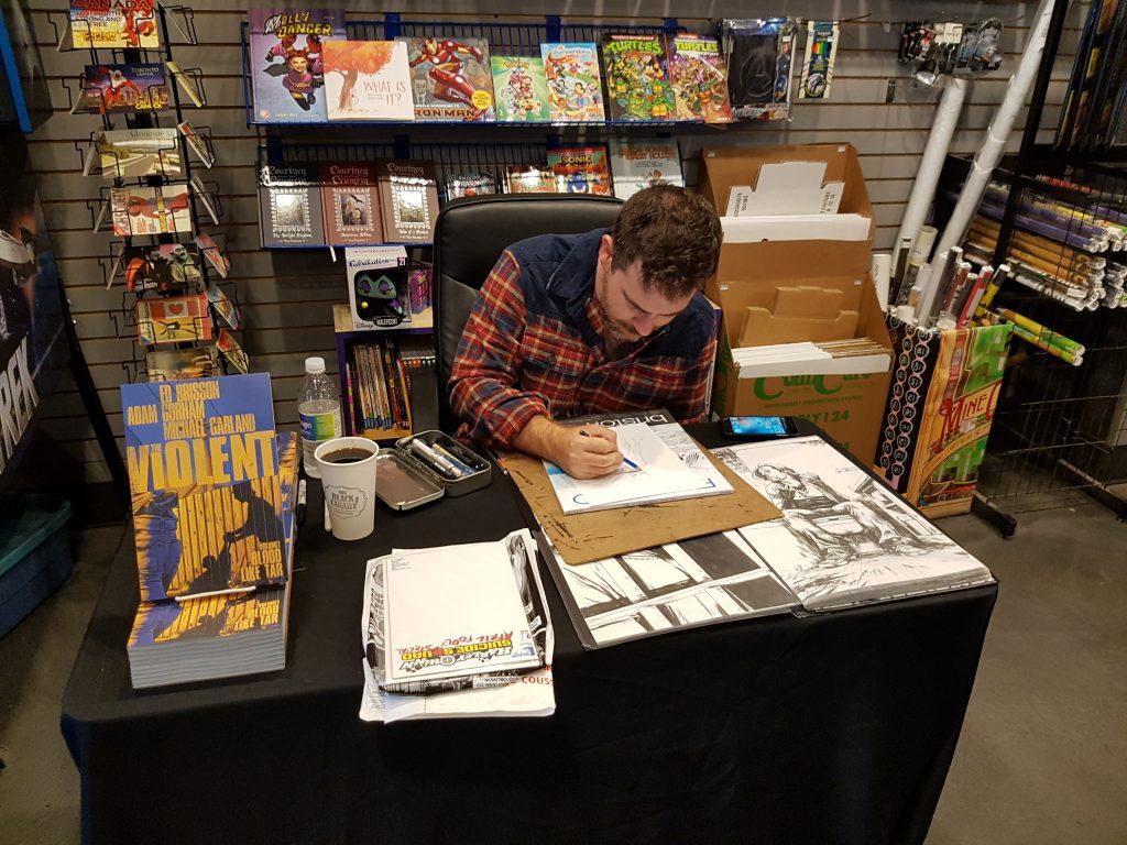 the-violent-adam-gorham-silver-snail-signing-event-cgc-comics-blog-4