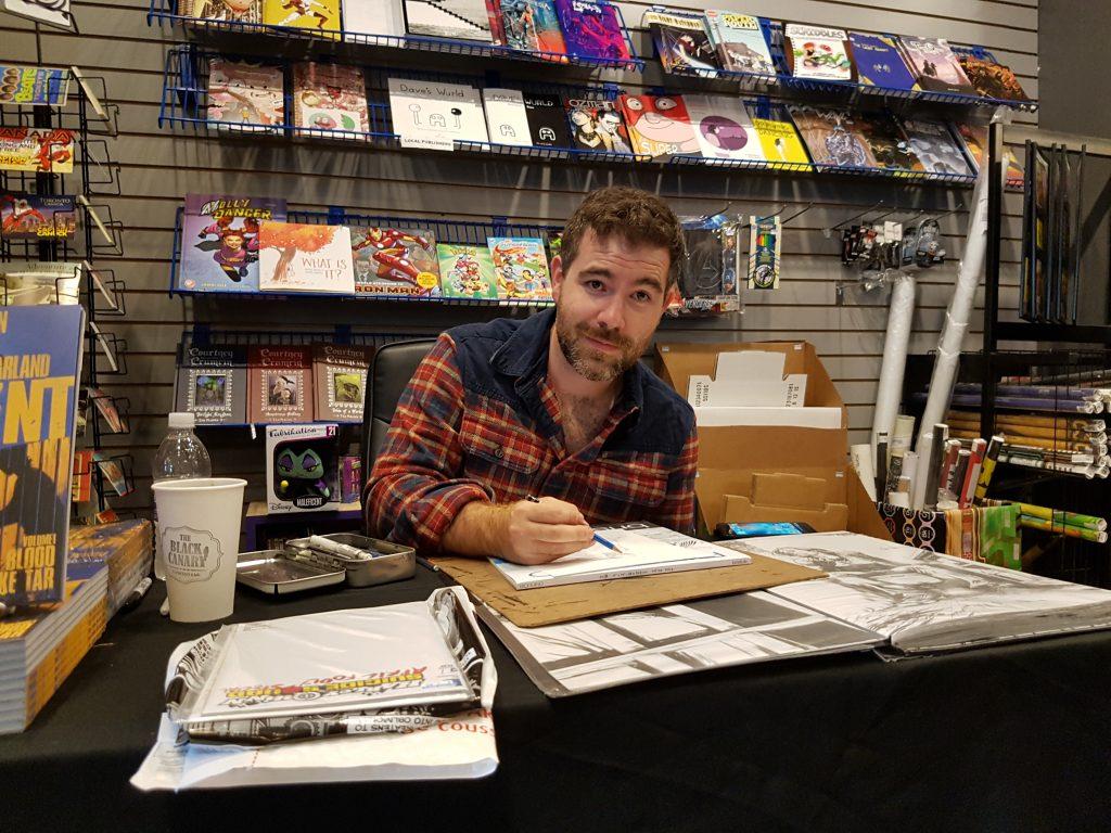 the-violent-adam-gorham-silver-snail-signing-event-cgc-comics-blog-5