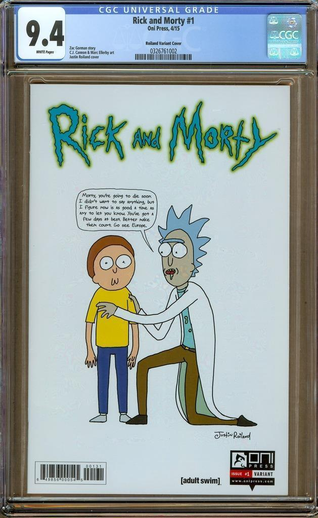 Justin Roiland Rick And Morty Sketch Cover by One Stop Comic