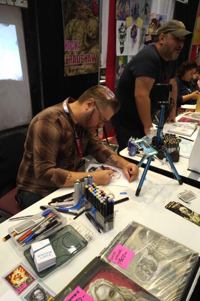 Tony moore at fan expo canada toronto 2017 cgc comics blog for Pool show toronto 2018